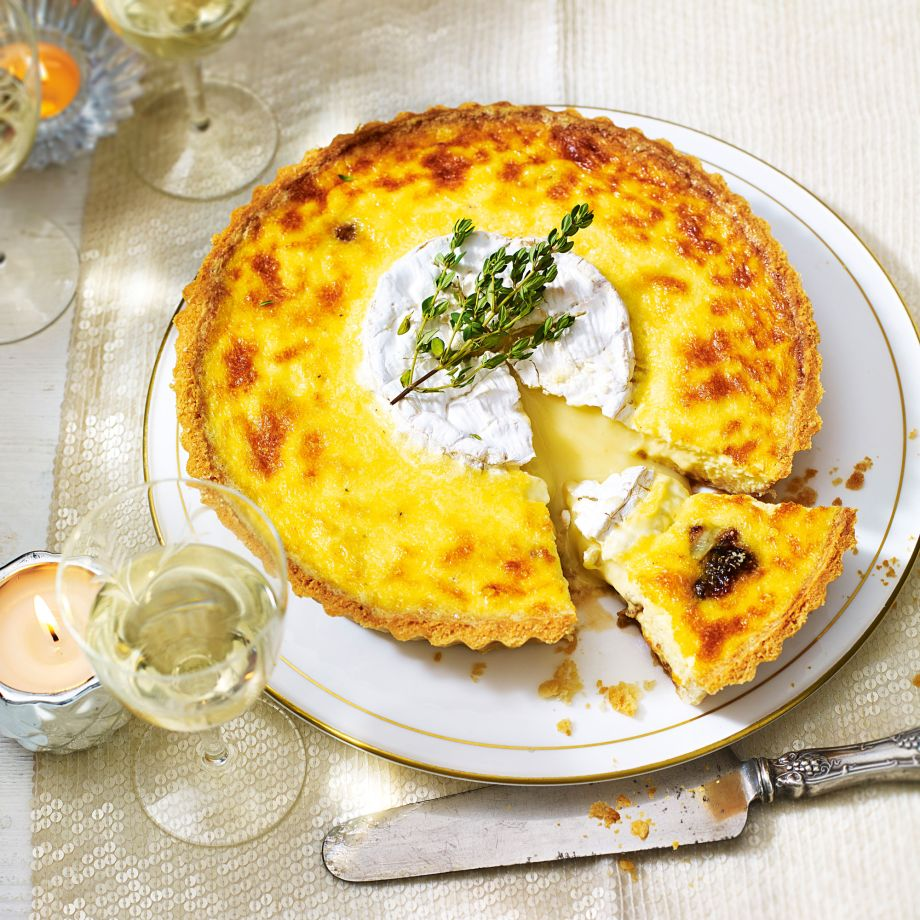 Camembert Tart Recipe