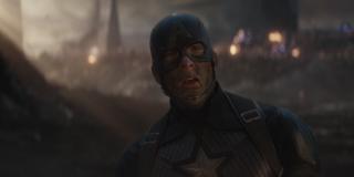 Captain America in Endgame