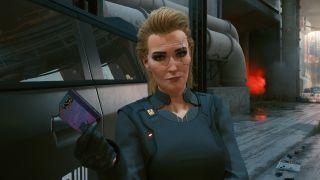 Cyberpunk 2077 Meredith Stout romance