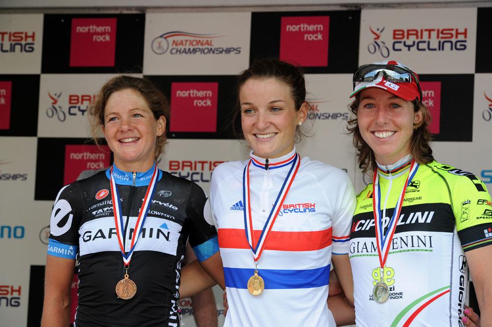 Lizzie Armitstead tops women