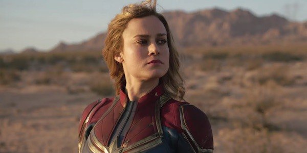 Captain Marvel on Earth