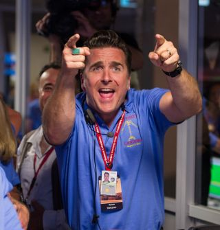 Steltzner Reacts to Curiosity Landing