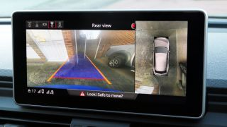 The Audi Q5 TFSI has a 360 degree camera view