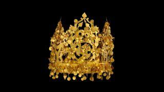 大巴哥宝物中有2万件金器。