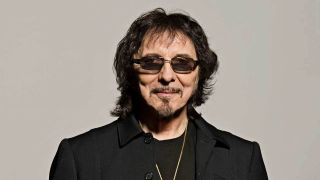 A portrait of Tony Iommi