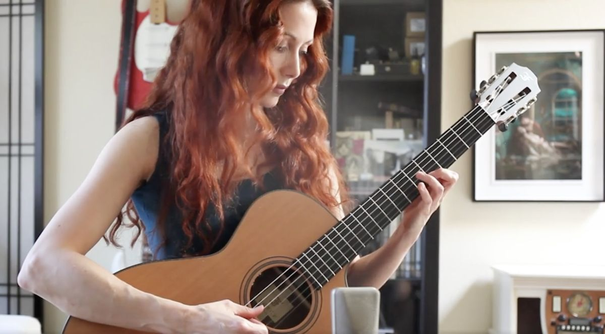 Watch Gretchen Menn showcase the stunning, picturesque tones of Furch's GNc 2-CW acoustic