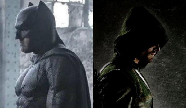 Oliver Queen Bruce Wayne Arrow Batman