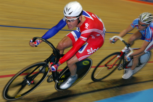 Chris Newton points race Manchester world cup
