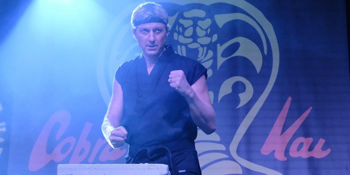 That Time Cobra Kai's William Zabka Broke His Toe During A Scene And Kept Filming