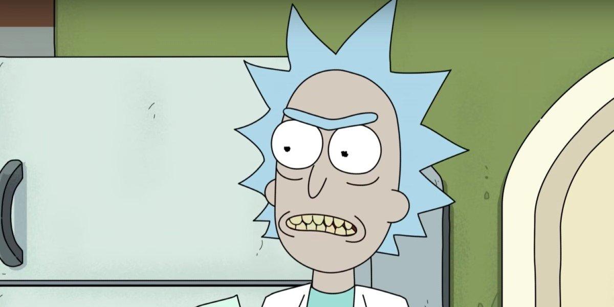 Rick Sanchez angry Adult Swim