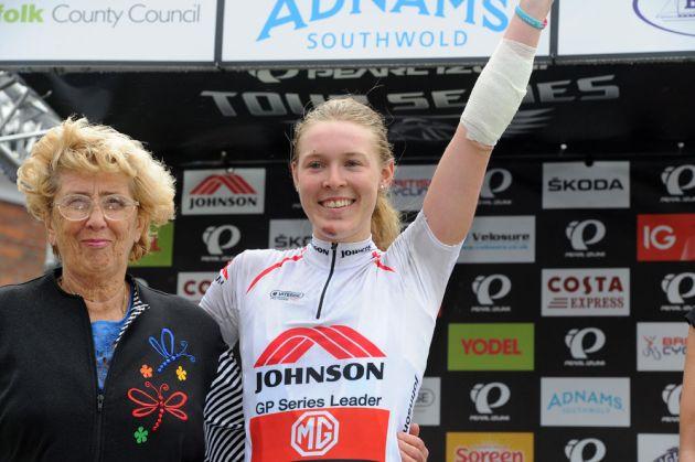Hannah Barnes, Tour Series 2013, round 10, Aylsham
