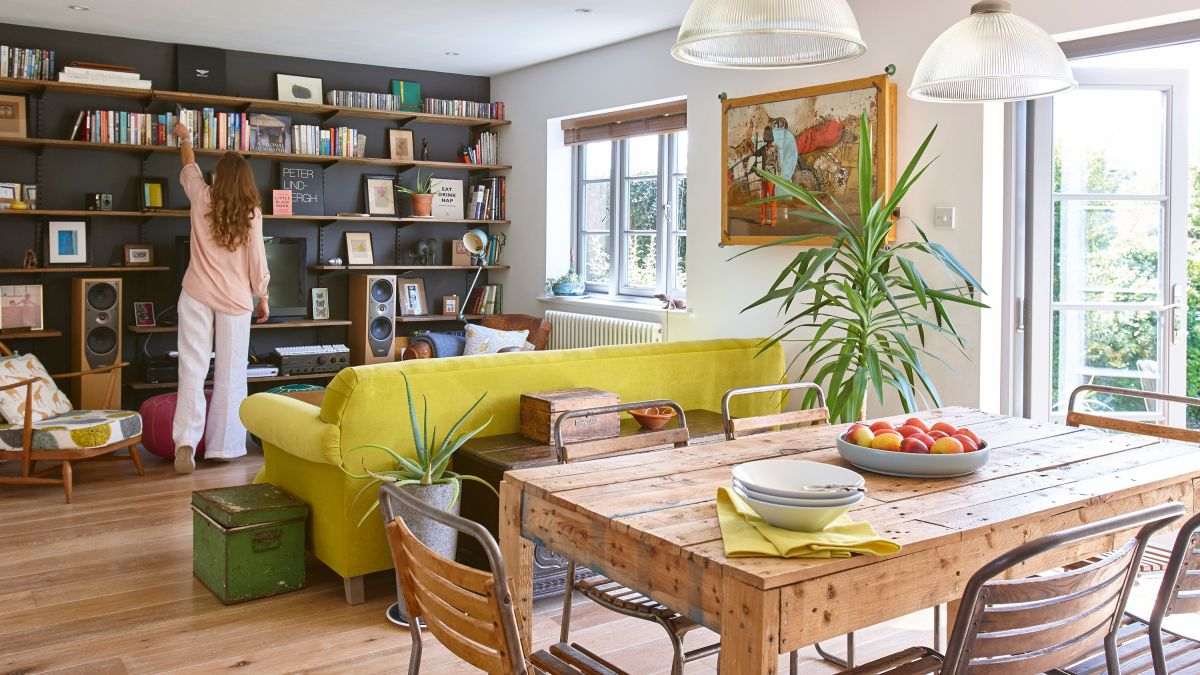 How To Create An Open Plan Layout In, Homes Without Dining Room