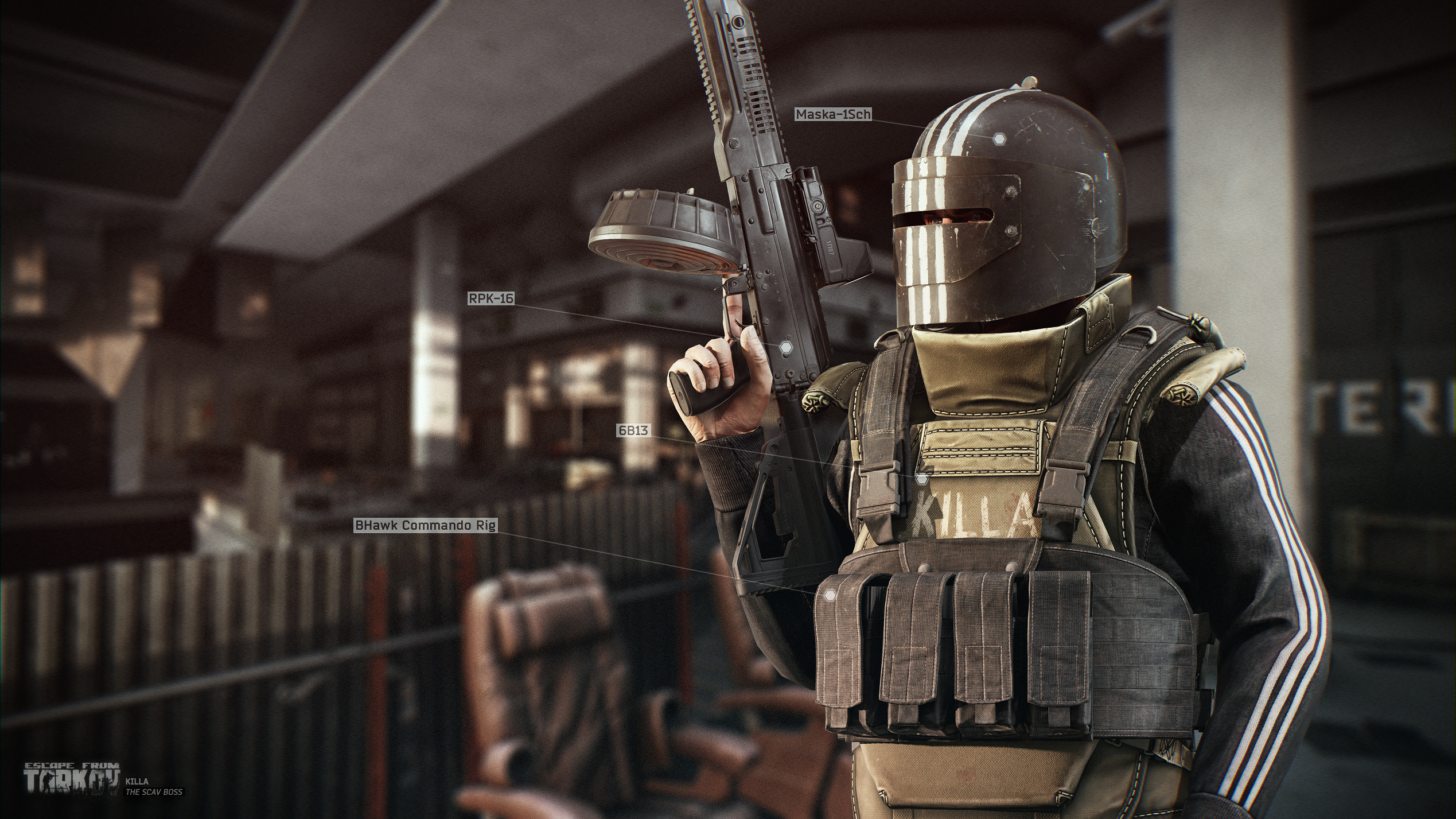 Escape From Tarkov trailer shows new underground lab