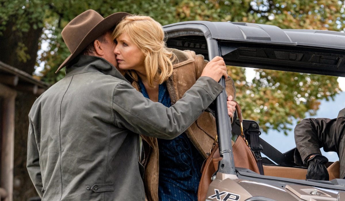 Yellowstone John Dutton Kevin Costner Beth Dutton Kelly Reilly Paramount Network
