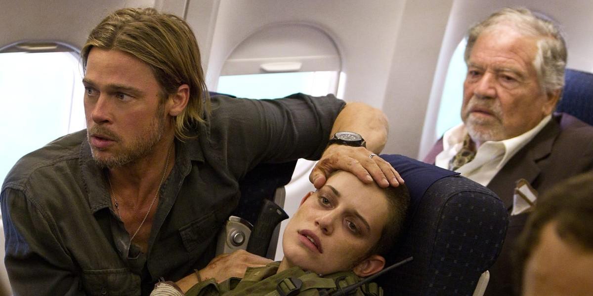 Brad Pitt on the left