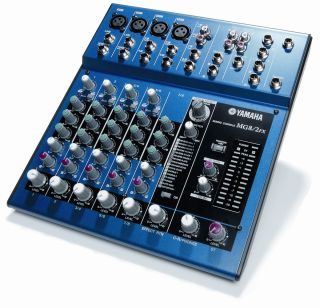 The MG8/2FX will put you in control of your live sound.
