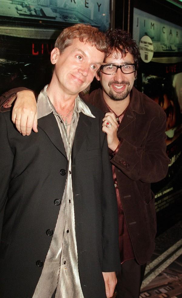 Frank Skinner (left) and David Baddiel.