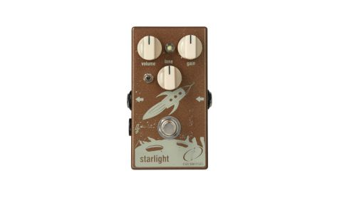 The Starlight fuzz may be made for soloing, but it sounds great on chords, too