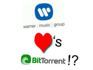 Does Warner heart Bittorrent? If it can make some money from it then quite possibly...