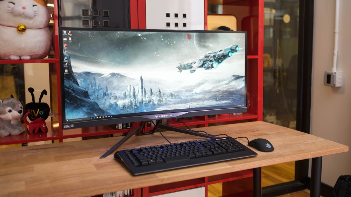 best monitor 2019 the best displays for your pc techradar. Black Bedroom Furniture Sets. Home Design Ideas