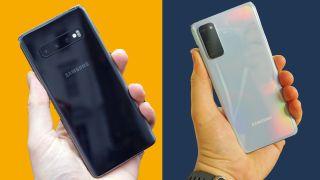 Samsung Galaxy S10 vs Galaxy S20