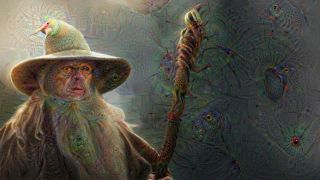 Google DeepDream Gandalf