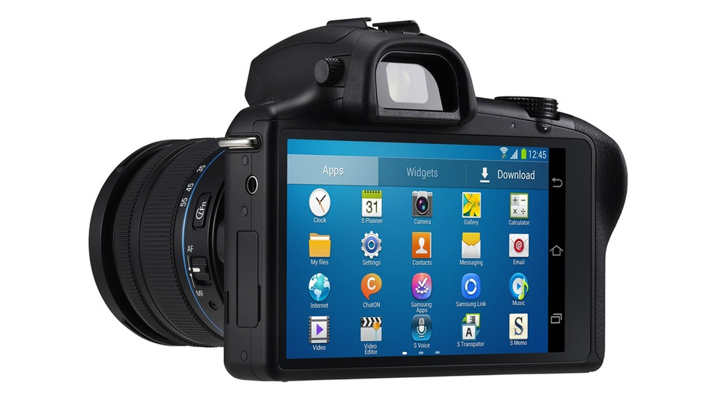 Samsung Galaxy NX, the first CSC powered by Android, unveiled