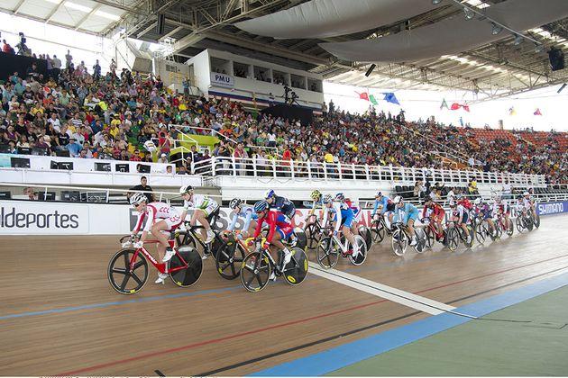 Women's points race omnium 2014 track worlds