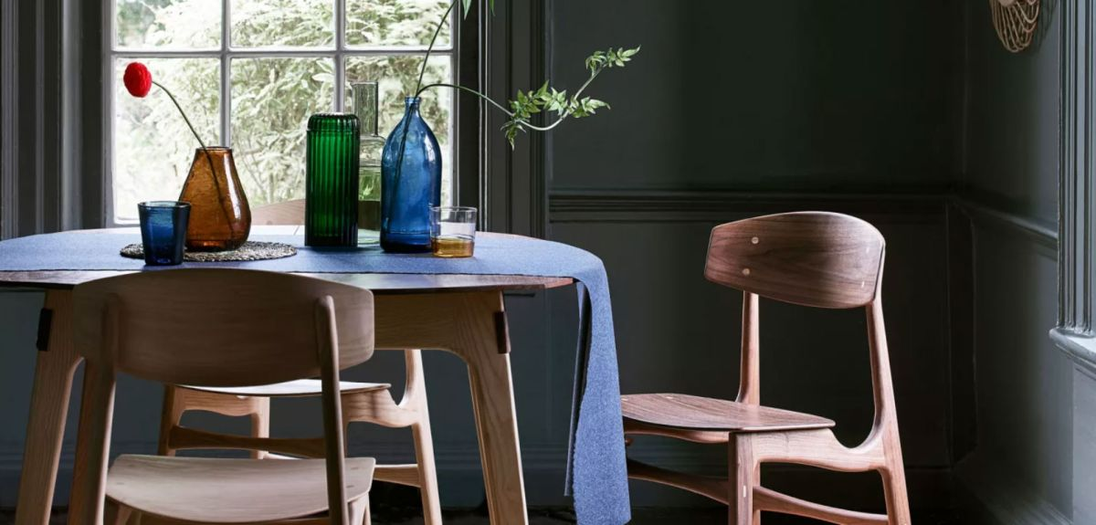 Make the most of a compact space with these small dining room ideas