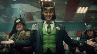 Tom Hiddleston in Loki for Disney+
