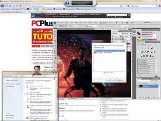 Windows 7 speech control
