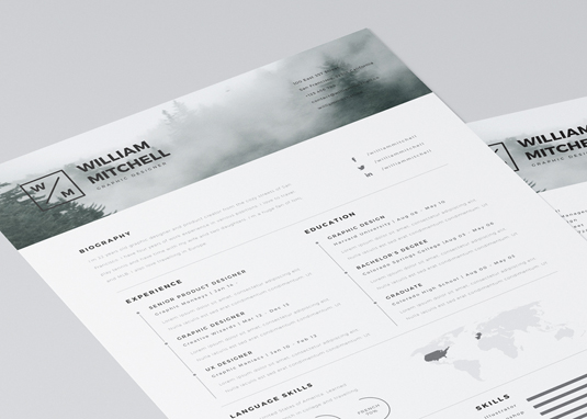 Resume and CV templates