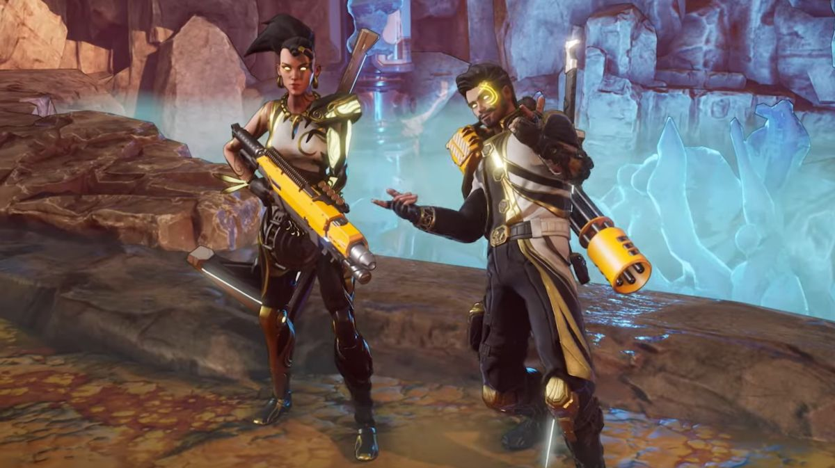 Space Punks is a co-op loot-shooter that looks a lot like an isometric Borderlands