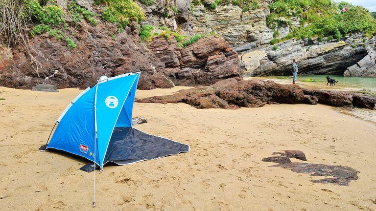 Coleman Sundome beach tent review