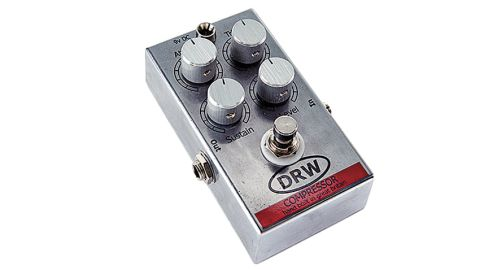 DRW builds on the Dynacomp-style pedal with an added an attack knob and a trim knob