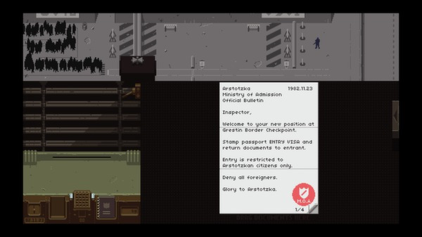 Papers, Please Is On Sale Today And You Should Probably Buy It #29309