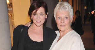 Dame Judi Dench with daughter Finty