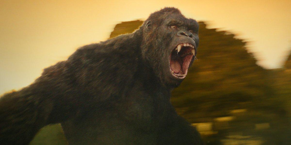 Kong: Skull Island Kong roars on Skull Island