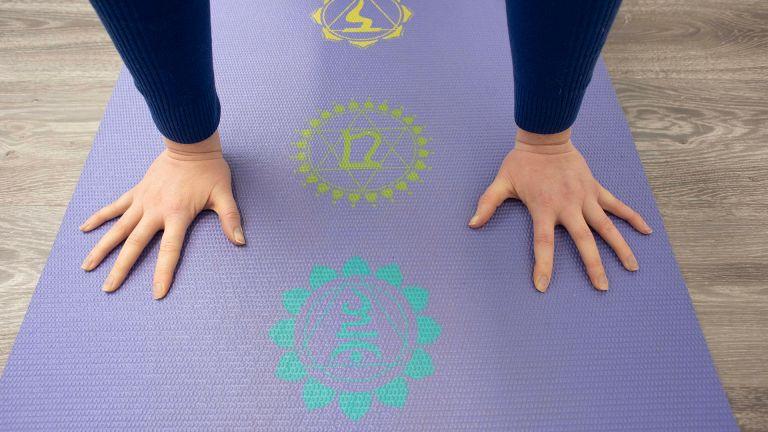 Gaiam Chakra Print Yoga Mat