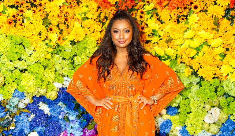 Eboni K. Williams attends alice + olivia Celebrates Pride With Prom at Parrish Art Museum on June 24, 2021 in Water Mill, New York.