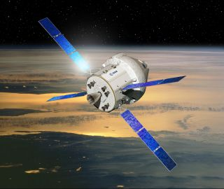 Orion Capsule with European Service Module