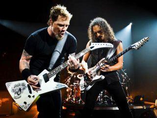 Hetfield Hammett and co Enter radio poll at No 1