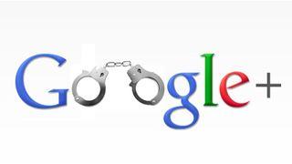 Google+ gets man arrested