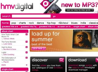 HMV launches new music download website in partnership with 7digital
