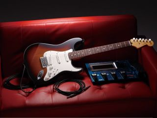 The Strat GC-1 features a 13-pin connector for linking to Roland's Guitar Synthesizer and V-Guitar systems.