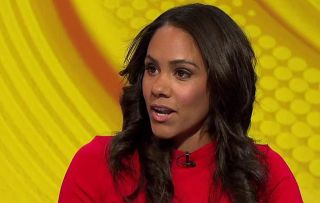 Match of the Day pundit Alex Scott who will be covering the Women's World Cup