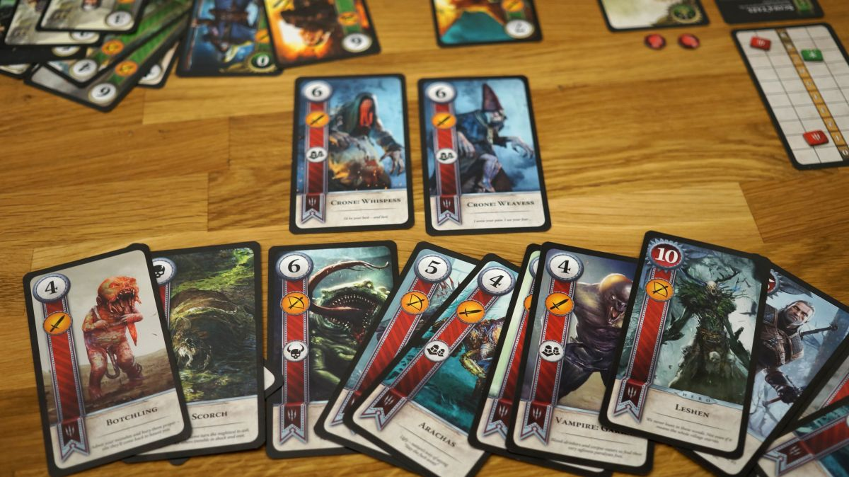 The Witcher 3 Hearts Of Stone Physical Gwent Cards Are