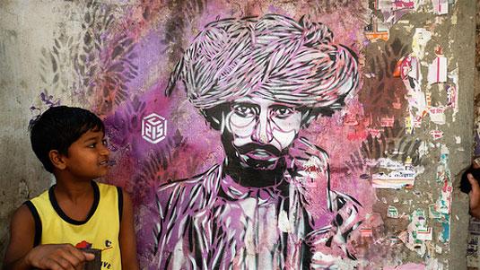 Street art: C215