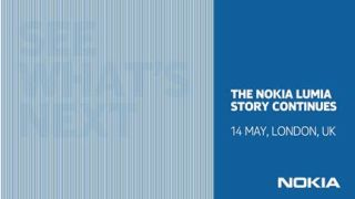 Nokia to reveal new Lumia at May 14 event