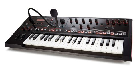 Physically, the footprint is similar to Korg's microKorg and Novation's MiniNova